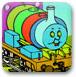 小火车填颜色