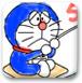 机器猫水彩画2