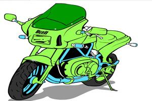 油漆摩托車