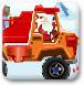 圣诞老人卡车运礼物