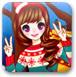 韩国圣诞女孩