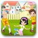 全家一起玩足球