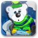 拥抱北极熊