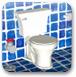逃离蓝色浴室