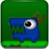 大眼绿怪夺宝石
