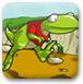 蜥蜴林格吃水果