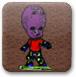 外星人玩滑板