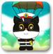 黑猫警长跳伞