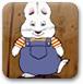 小兔子收集玩具