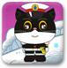 黑猫警长打雪仗