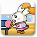 萌兔乒乓球