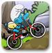 蓝精灵骑自行车