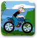 大力水手骑摩托