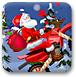 圣诞老人骑机车