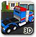 3D货运大卡车