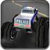 3D大腳警車競速