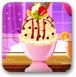 美味的香草冰淇淋