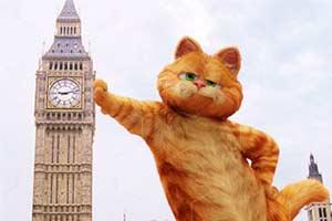 加菲猫变巨人