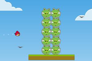 愤怒小鸟大战绿猪